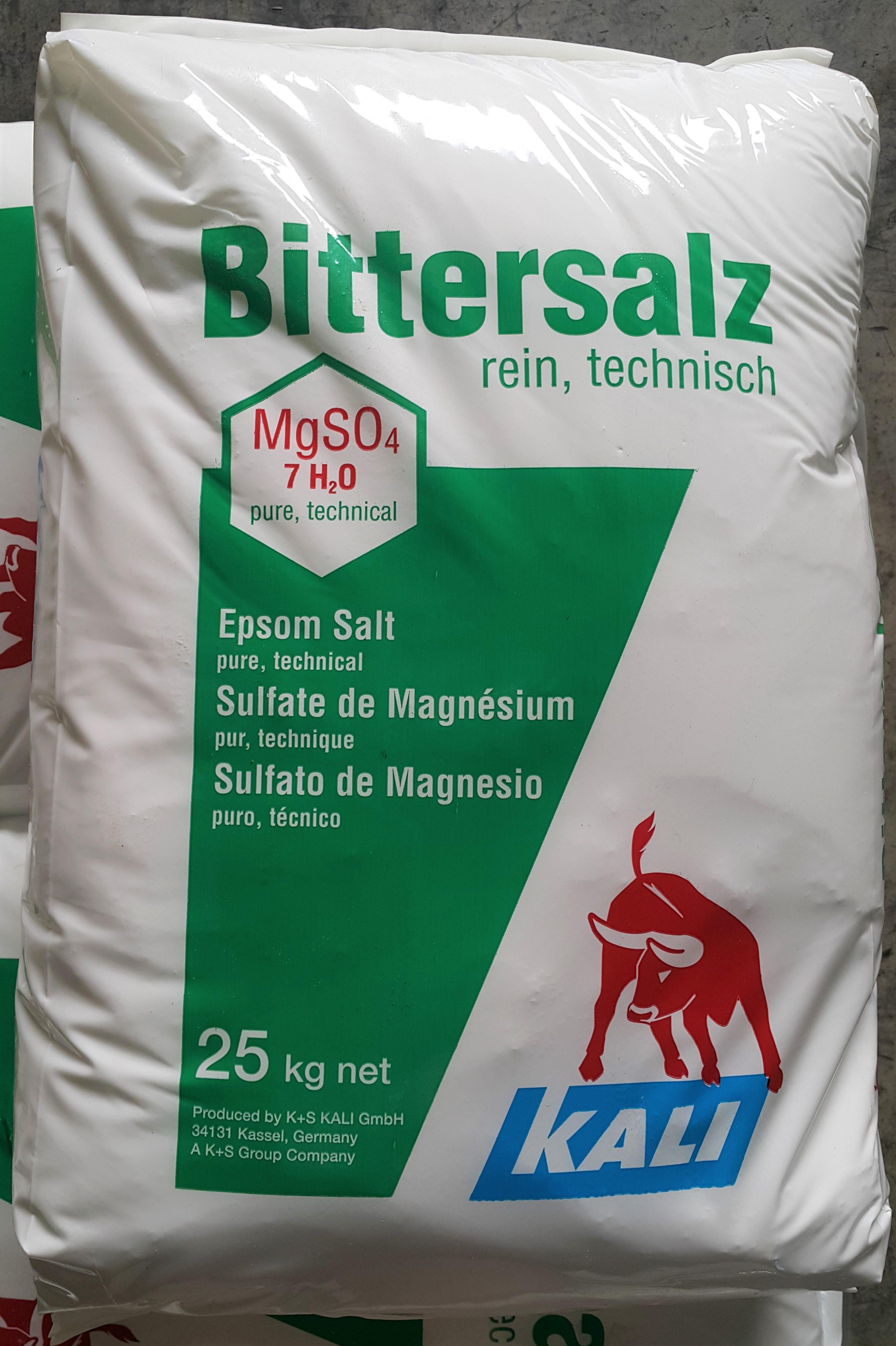 7水硫酸鎂,瀉鹽